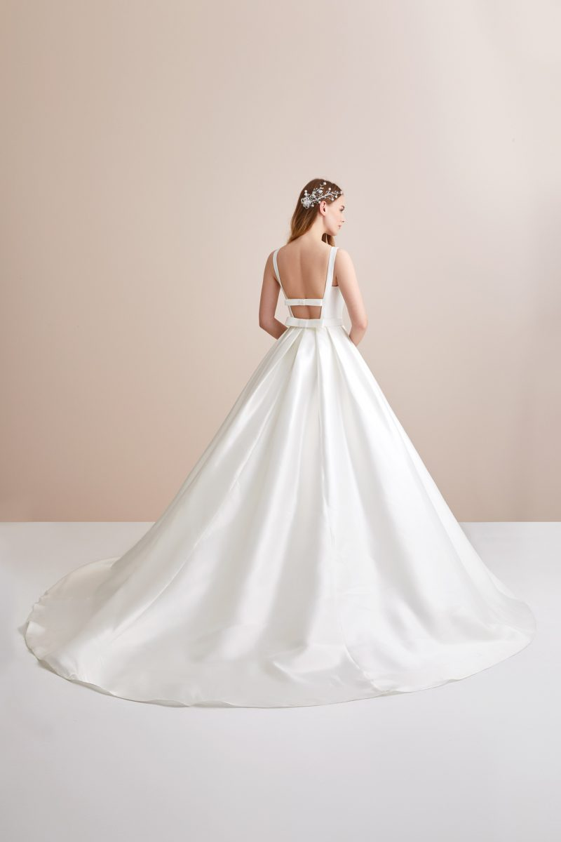Mikado Ballgown Wedding Dress