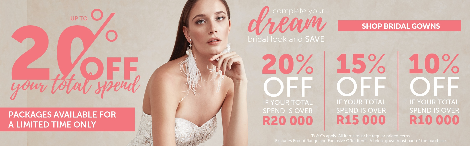 Promo Banner Bride&co Website July 2018