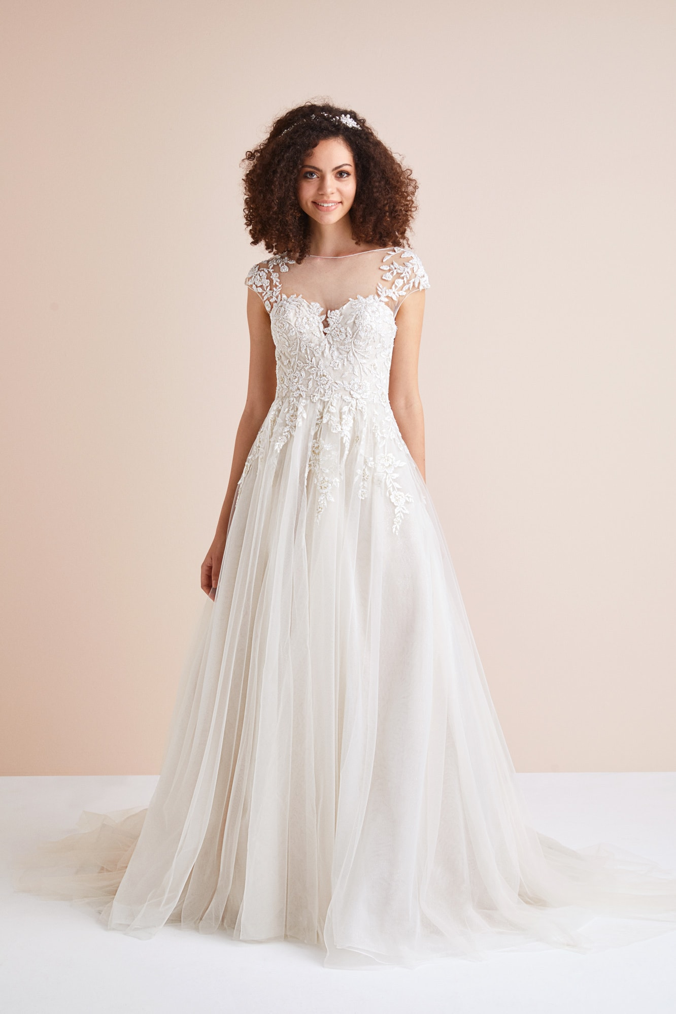 Lace Ballgown Wedding Dress