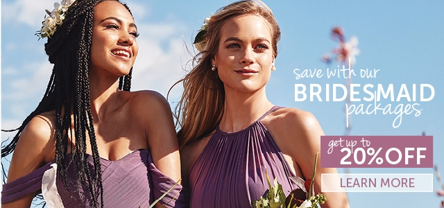 small Promo Banner Bridesmaid Packages 2018