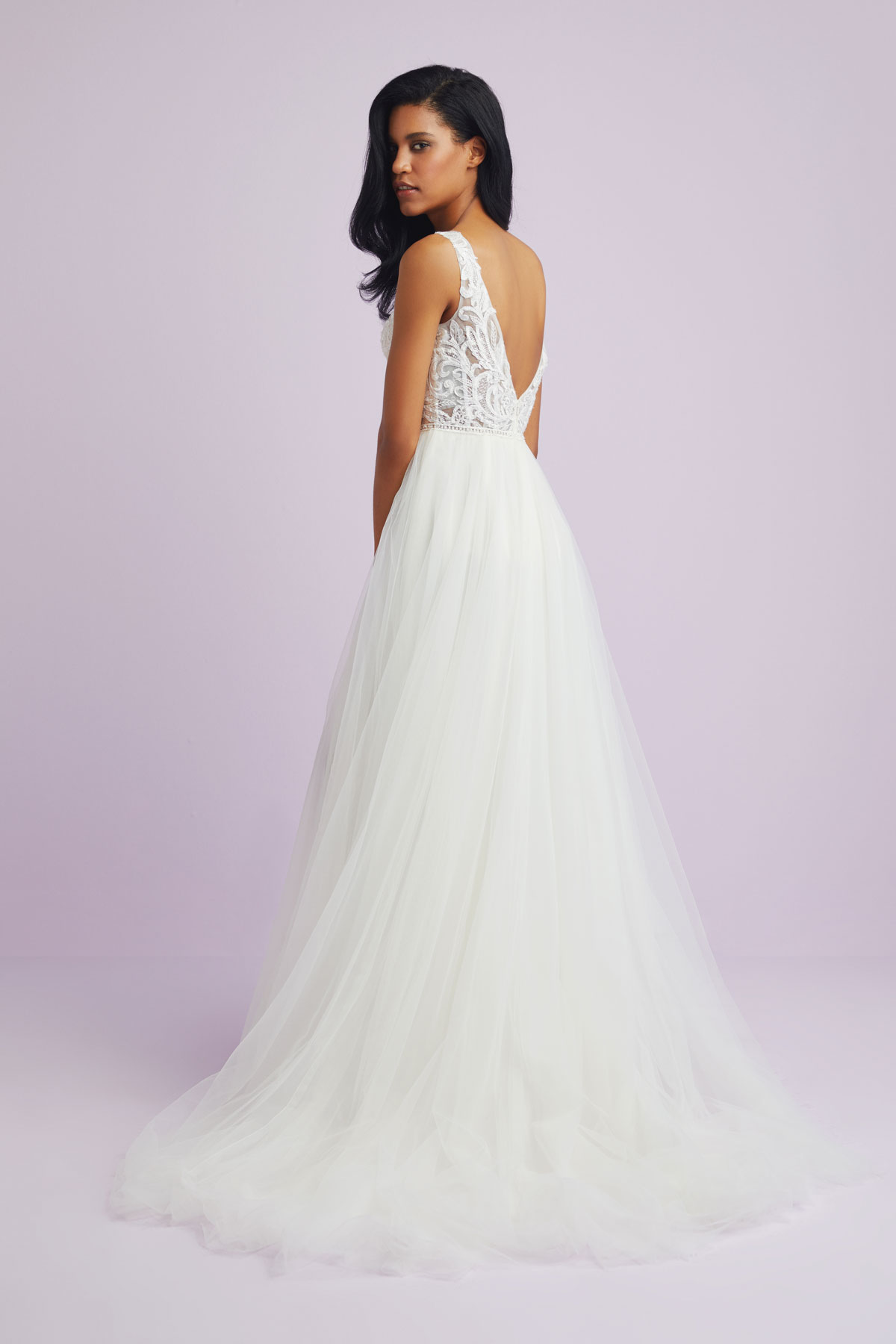 A Line Wedding Dress.Br01877 Bride Co Bridal Collection