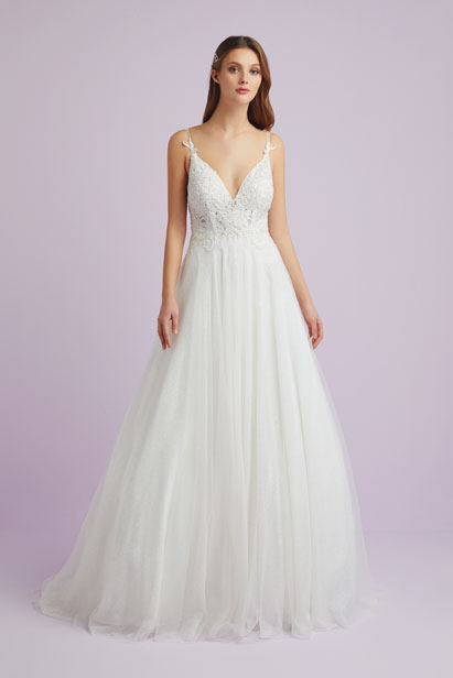 A Line Wedding Dress.Br01883 Viola Chan