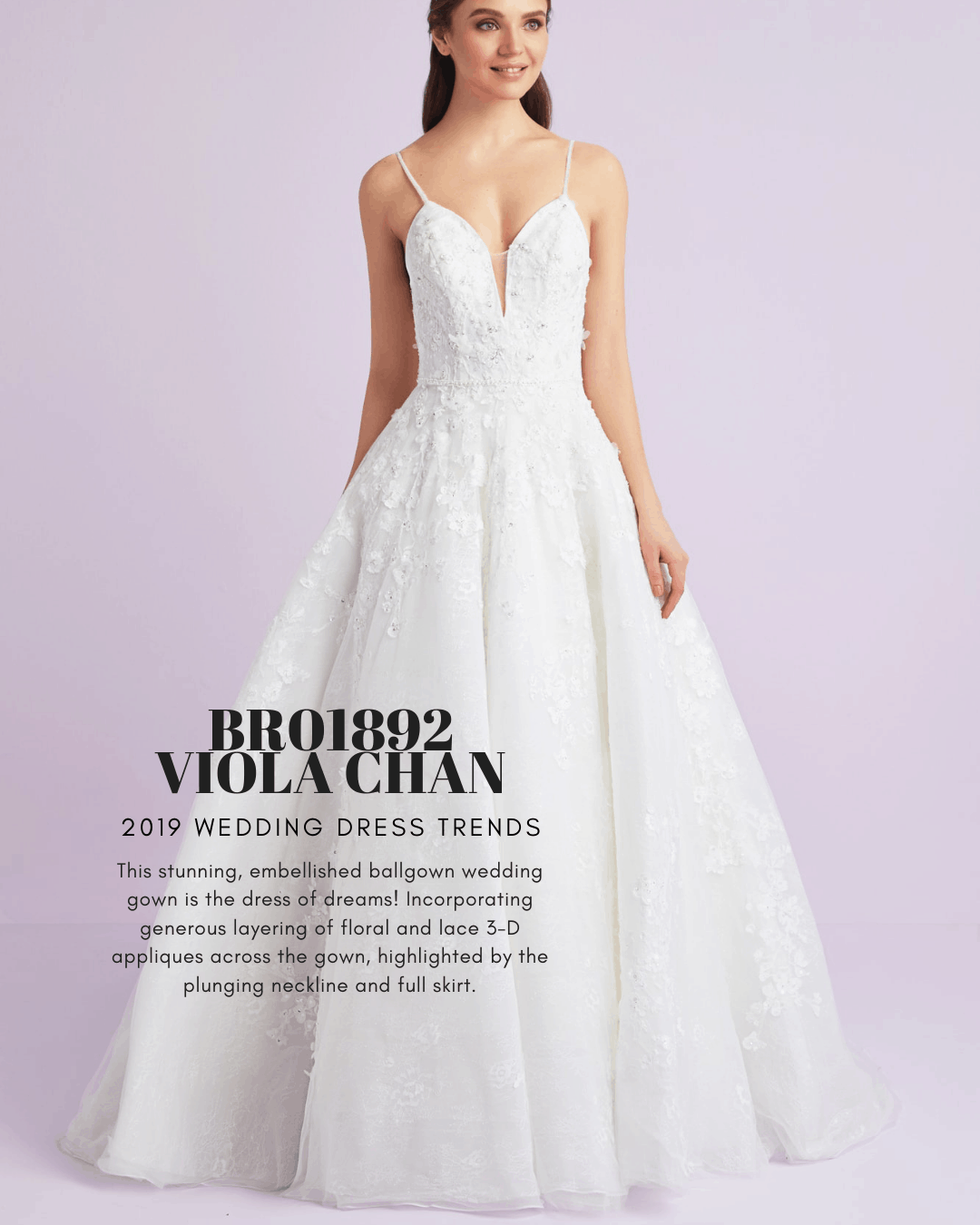 b4887debaa24 2019 Wedding Dress Trends | Set the Aisle Alight with these Styles