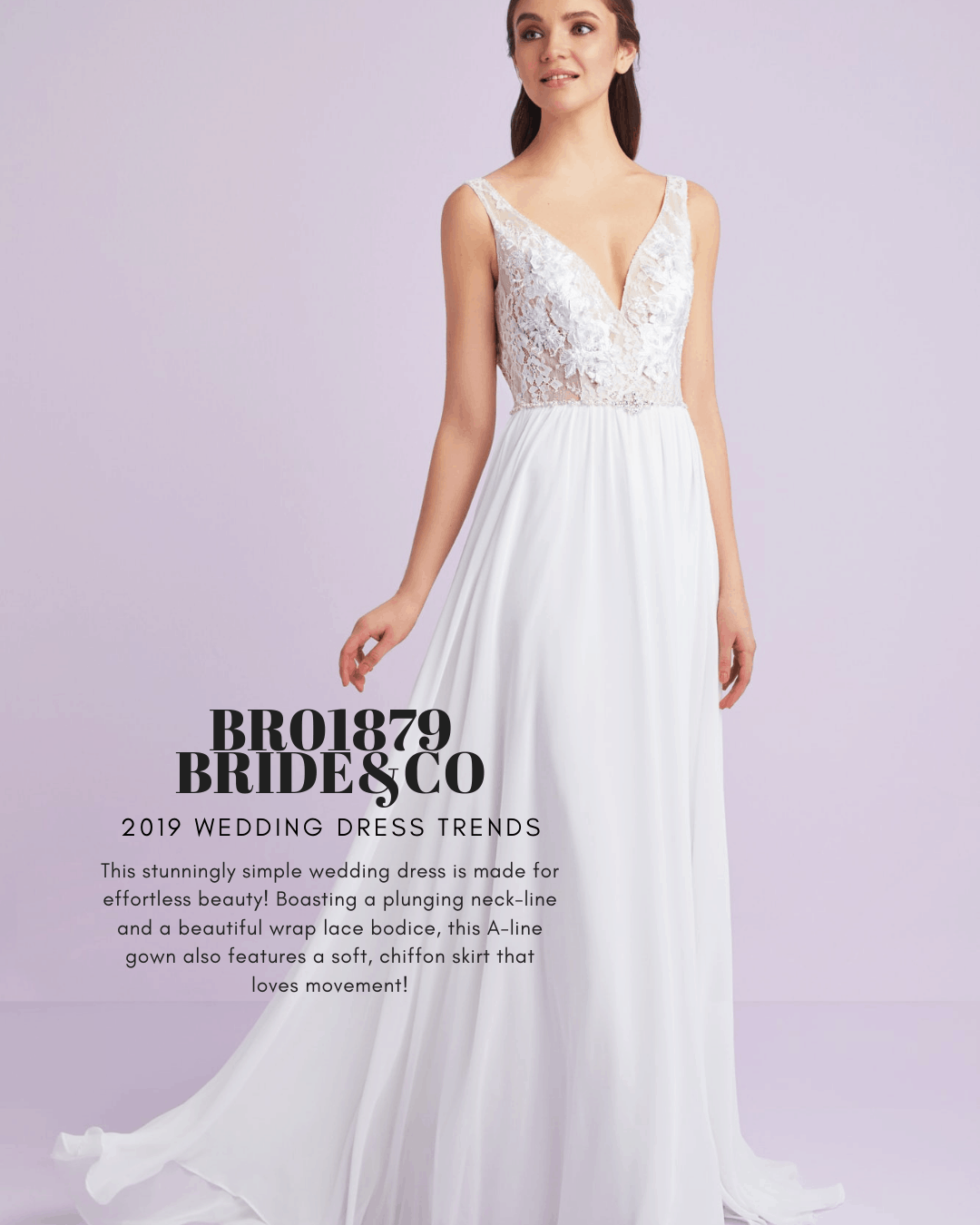 2019 Wedding Dress Trends Set The Aisle Alight With These